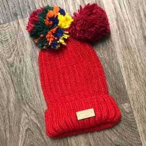 🌸2/$20 NWOT Do Everything in Love Interchangeable Pom Beanie